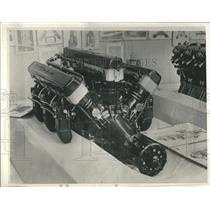 1933 Press Photo Motor