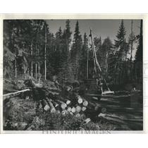 1942 Press Photo Great Lakes Paper Company