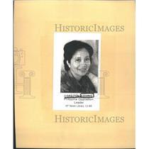 1985 Press Photo Corazon Aquino People Power Revolution