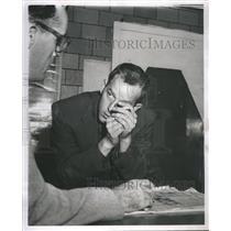 1955 Press Photo Kenneth T. Smith Mad Gunman