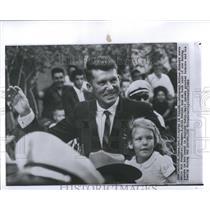 1962 Press Photo Astronaut Schirra Honor Parade Houston