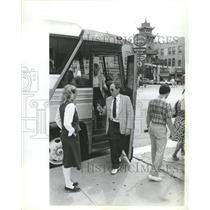 1982 Press Photo China Town