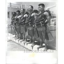 1965 Press Photo Formosa Navy Tsoying Naval Academy