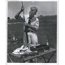 PRESS PHOTO National rifle association member