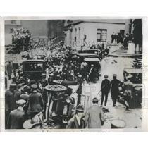 1957 Press Photo Wall Street New York World War I