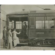 1930 Press Photo Street Car - RRR12275
