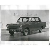 1963 Press Photo English Four Door Consul Cortina