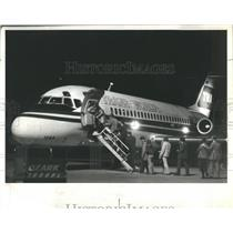 1978 Press Photo Trans World Airplane hijacked