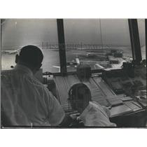 1970 Press Photo Air Traffic Controllers at O'Hare