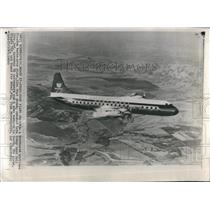 1960 Press Photo NW Airlines Electra Crashes Indiana - RRR26059