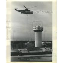 1974 Press Photo Airplanes GlenView