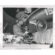 1950 Press Photo John Valenti Soap Box Derby Winner