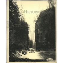 1928 Press Photo Alaska, River Near Wrangeel, Harding Creek Canyon - mjx21142
