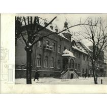 1939 Press Photo Lithuania-The Government Palace in Memel, Adolf Hitler.