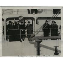 1939 Press Photo New York Cavalier Rescue Ship Arrives In New York NYC