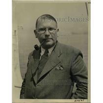 1941 Press Photo Leon Kay, U.S. Correspondent in Belgrade returns from Europe.