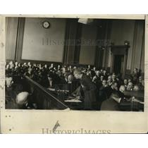 1925 Press Photo Lee Parson Davis Pleading Case of Alice Rhinelander Grand Jury
