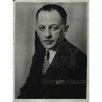 1933 Press Photo W.L. Colley Champio Bait Caster of American.  - nee58907