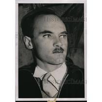 1936 Press Photo Nobel Prize in Physics winner, Carl David Anderson - nef35329