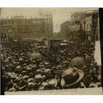 1926 Press Photo Crowd in Mexico City Mexico - nef45819