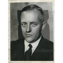 1930 Press Photo Dr. Gottfried Reinhold Treviranus of Germany - nef43926
