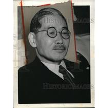 1941 Press Photo Japanese Minister Shigenori Togo in Toyko - nep00374