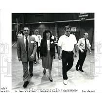 Press Photo Dr Paul Kreiden, Sheilia Walker, Bruce Turner & Jim Puckett