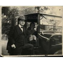 "1922 Press Photo Edgar Bristol, founder of ""New Civilization"" movement"