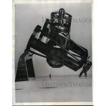 1936 Press Photo First Photo of New Model of 200-Inch Telescope - nef46830