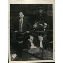 1930 Press Photo Saveli Litvinoff brother of Soviet commisar at Paris court