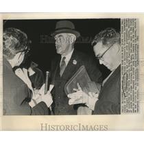 1962 Press Photo Former Secretary of State Dean Acheson in Baltimore - nox00815
