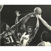1982 Press Photo Sidney Moncrief of the Milwaukee Bucks