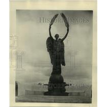 1939 Press Photo Canada-Memorial-Peace Monument-Nobles of the Mystic Shrine.