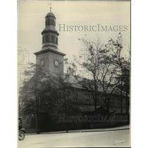 1932 Press Photo Canada-Nova Scotia-St. Paul's Church in Halifax, Nova Scotia.