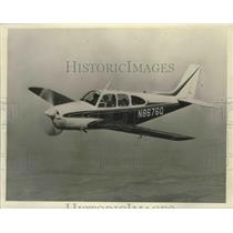 1964 Press Photo Planes - 1965 Beechraft C33 Debonair Airplane - noz00175