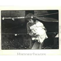 1985 Press Photo Ruth Stigall of South Bend, Washington - fux00015