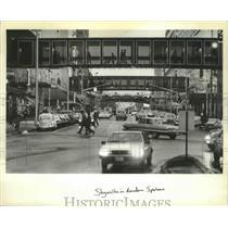 1983 Press Photo Spokane, Washington Skywalk - fux00080