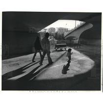 1983 Press Photo Riverfront Park, Spokane, Washington - fux00081