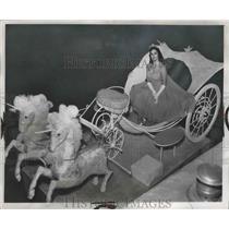 1920 Press Photo Florence Frances - fux00100