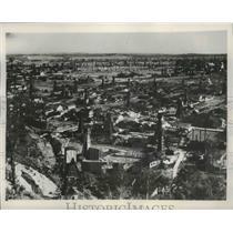 1939 Press Photo Aerial Poland City View - fux00434