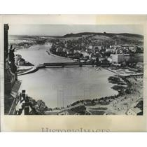 1939 Press Photo Aerial Poland City View - fux00435
