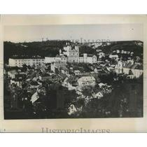 1939 Press Photo Aerial Poland City View - fux00437