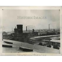 1939 Press Photo Aerial Poland City View - fux00441