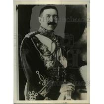1930 Press Photo General Pera Zivkovitch of Yugoslavia - nef40662