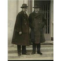 1923 Press Photo Dr. Vaclav Maule, Dr. Vavro Srohar at White House - nef45417
