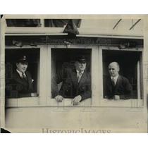 1925 Press Photo Donald B. MacMillan on ship - nef54873