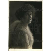 1919 Press Photo Lady  Swaythling of Serbia on a visit to the US - nep01015
