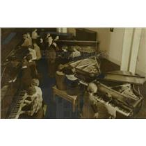 1934 Press Photo Portland Piano Ensemble - orb98316