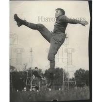 1929 Press Photo C.N. Piper, star Army back - orc18964
