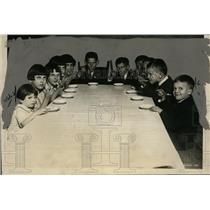 1925 Press Photo German Orphan Asylum in Washington willed ice cream - neo00109